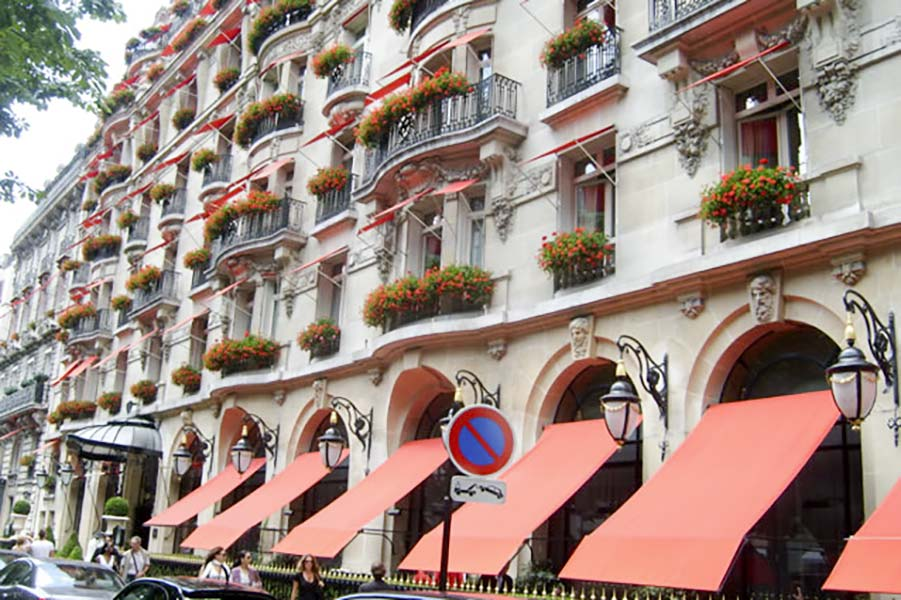 Rénovation à l'Hotel Plaza 5* à Paris