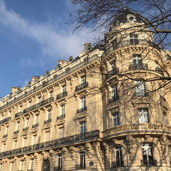 Travaux avenue de la Grande Armée à Paris